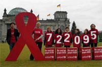 Bilanz der Kampagne 'Du und ich gegen AIDS' in Berlin vorgestelt - Foto: UNICEF