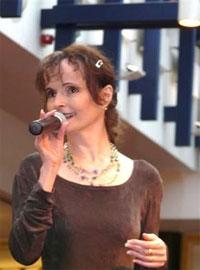 Sängerin Jana Yngland