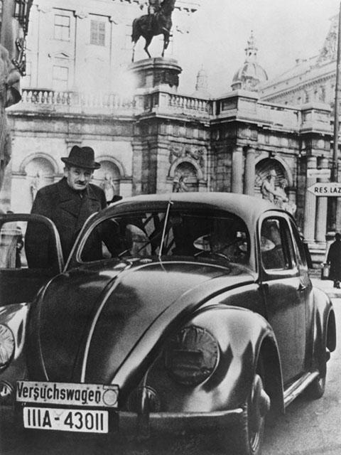 VW-Versuchswagen - Foto: Auto-Reporter/Porsche