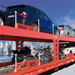 Autozug - Sicher im Schnee landen...