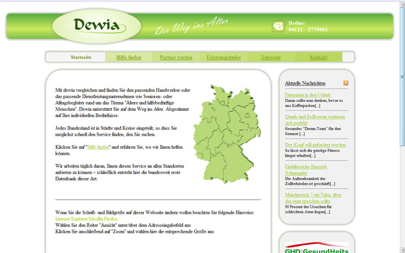 DEWIA - Der Weg ins Alter