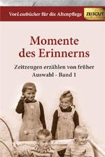 Vorlesebücher für die Altenpflege Band 1 - Cover: Zeitgut Verlag