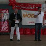 1. Elmshorner Senioren-Olympiade - Hans-Peter Hendriks und Gregor Klöters - Foto: Seniorenland