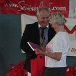 1. Elmshorner Senioren-Olympiade - Gewinnübergabe - Foto: Seniorenland