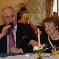 Draga Matkovic und Seniorenland-Schlagerstar Hans-Peter Hendriks