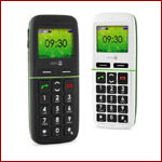 Doro PhoneEasy 345 gsm, mit Bluetooth - Foto: Seniorenland
