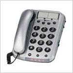 Die Geschenk-Idee: Geemarc, Großtastentelefon Dallas 10, hörgerätetauglich - Foto: Seniorenland
