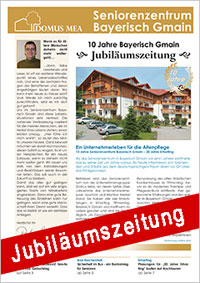 Jubiläumszeitung zum 10jährigen Bestehen