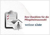 Ihre Checkliste für die Pflegeheimauswahl - Weisse Liste