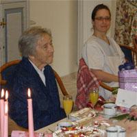 Maria Liedauer im Seniorenzentrum in Bayerisch Gmain  - Foto: Domus Mea